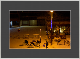 #03995  Snow playing - Briancon